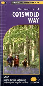 Cotswold Way Harvey Map